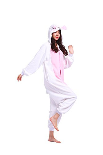 Pigiami Onesie Cartoon Costumi Kigurumi Rosa Insetti Adulti Magicmode Animali Pigiameria Coniglio Nuovo Felpa Unisex Cosplay vgwqz4