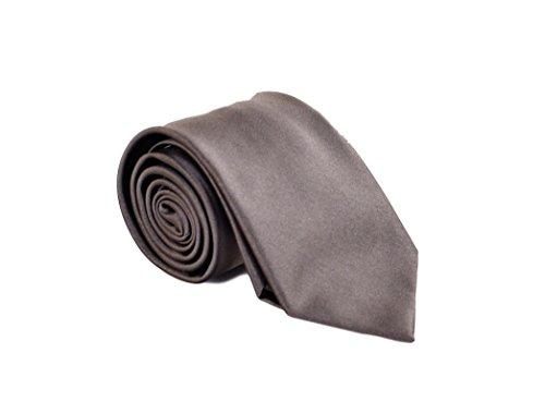 Brioni Men's Solid Satin Silk Necktie (Brioni Mens Silk Tie)