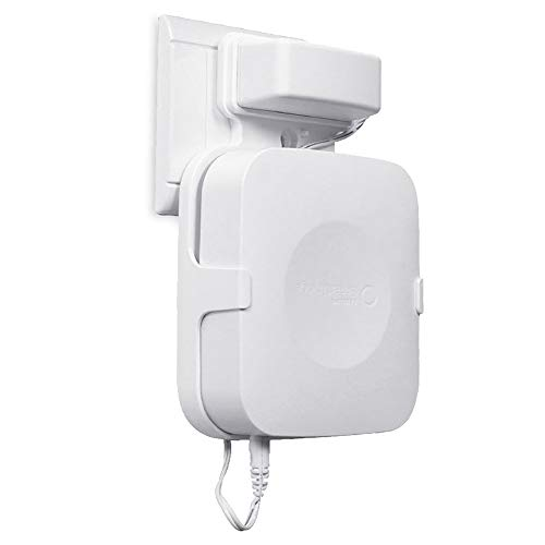 Aobelieve Wall Mount for Samsung SmartThings Smart Home Hub, White