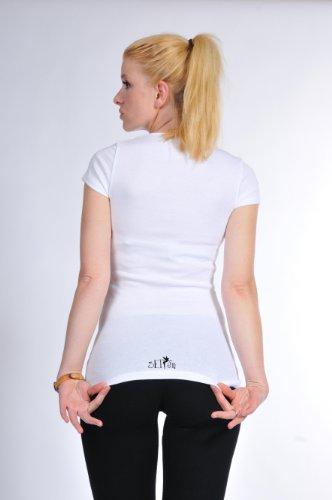 Cuello Top 3 Redondo Elfen M Elemento Camiseta RqtOnTw0Px