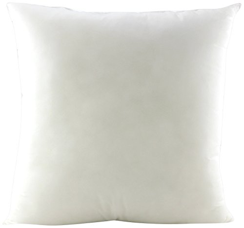 Decorative Handcrafted Polyester Filler - Pile of Pillows Insert Cushion (8-Pack), 18x18, Multi