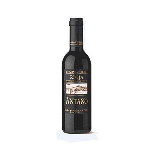 Antaño cosecha vino botella de cristal de 37.5 cl