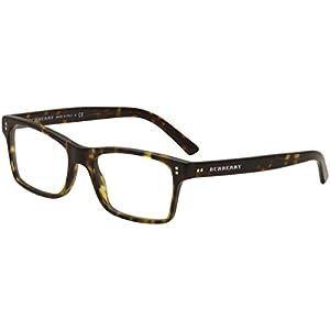 BURBERRY Eyeglasses BE 2222 3536 Matte Dark Havana 53MM