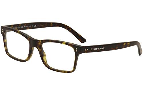 BURBERRY Eyeglasses BE 2222 3536 Matte Dark Havana - Men Burberry Eyeglasses
