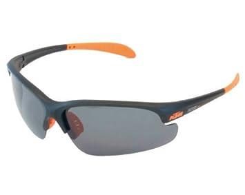 KTM Sonnenbrille Weiß-schwarz mit Softbügel und Vollfassung. Fahrradbrille Bikebrille, Motorradbrille ( K-67353 )