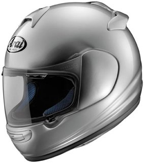 Arai Vector-2 Full Face Motorcycle Riding Race Helmet- Aluminium Silver
