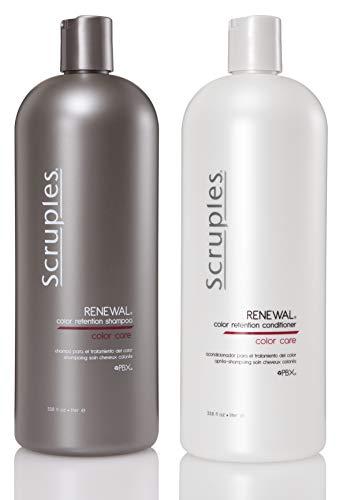 Scruples Renewal Color Retention Shampoo & Conditioner 33.8oz Duo