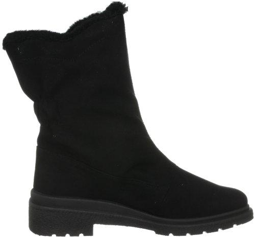 Calf Boots Women's 293890 Black Mid Rohde qtw0vPBxq