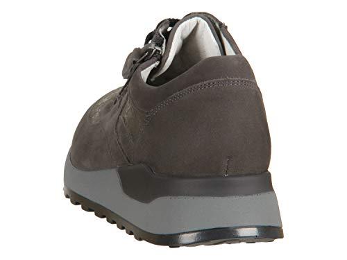Waldläufer Ville Femme de pour Gris 37 EU Gris Lacets Chaussures à q4Cr7qA