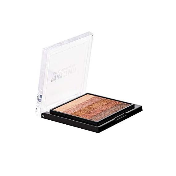 Swiss Beauty Brick Highlighter Palette, Face MakeUp, Multicolor-01, 7g