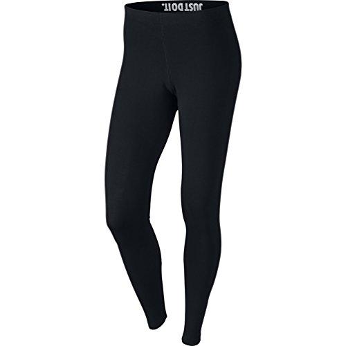 Nike Womens Leg-A-See Logo Leggings Black/White 806927-010 Size X-Large