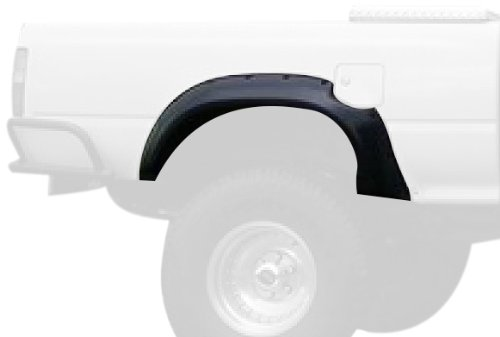 (Bushwacker 31020-11 Toyota Cut-Out Fender Flare - Rear Pair)