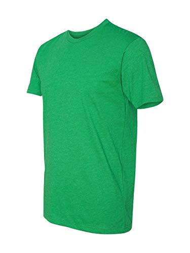 - Next Level Mens Premium Fitted CVC Crew Tee N6210 -KELLY GREEN M