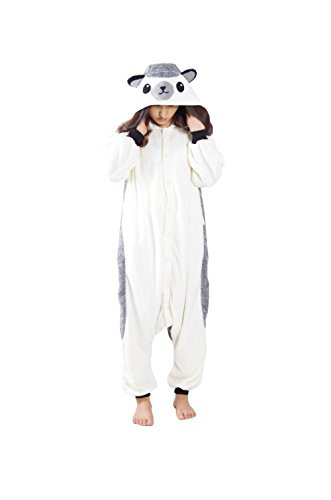 BRL MALL Unisex Adult Pajamas Plush Onesie Cosplay Hedgehog Animal Festival Costume for $<!--$20.99-->