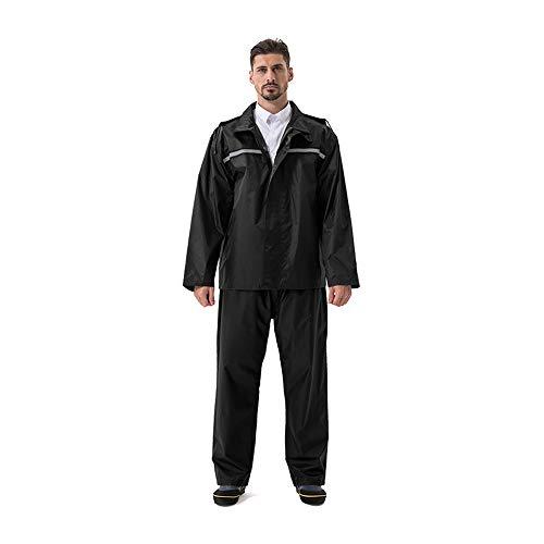 (Anyoo Rain Suit Waterproof Hooded Rainwear for Men Women)
