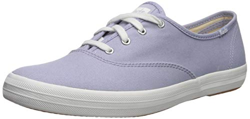 Keds Women's Champion Spring Solids Sneaker, Lavender, 5.5 M US