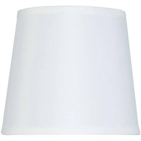 - Hard-Back, Drum Lamp Shade, White
