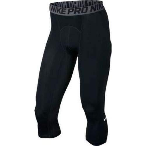 Nike Pro Cool 3/4 Tights Black - Quarter Pant Nike Three