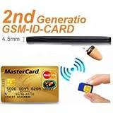Spy Gsm ID Card Shop GSM Box & Bluetooth Spy Earpiece Super Small Micro Invisivble Wireless Earphone