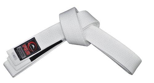 Fuji BJJ Belt, White, A3