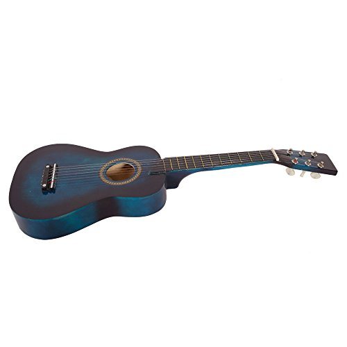 25″ Acoustic Guitar Toy with Pick String (Blue)