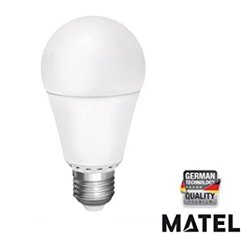 MATEL M294601 - Bombilla led e27 estandar 12 w - 1180 lumenes: Amazon.es: Hogar