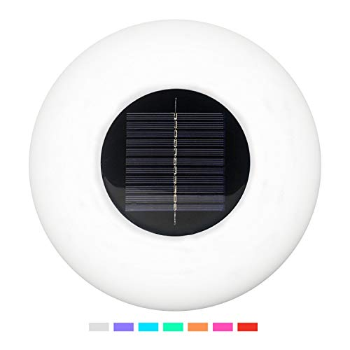 Solar Floating Swimming Pool Light Color Changing Led in US - 4