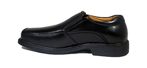 La Milano Men's Black Leather Comfort Shoes Wide EEE #A1720 free shipping outlet store osznvmqf2