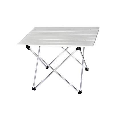 OTTAB Portable Table Foldable Folding Camping Hiking Desk Traveling Outdoor Picnic New Blue Gray Pink Black Al Alloy Ultra-Light S L S 39.5x35x32cm4