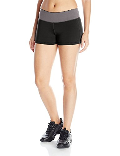 2c26015c655 Youmita Gray Waistband Cardio Shorts and Capris