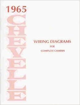 1965 chevelle, malibu, & el camino wiring diagram reprint paperback – 1965  by  chevrolet