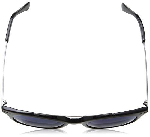 Azul Shiny Police de para Gafas Black Hombre Sol zXH1zr4