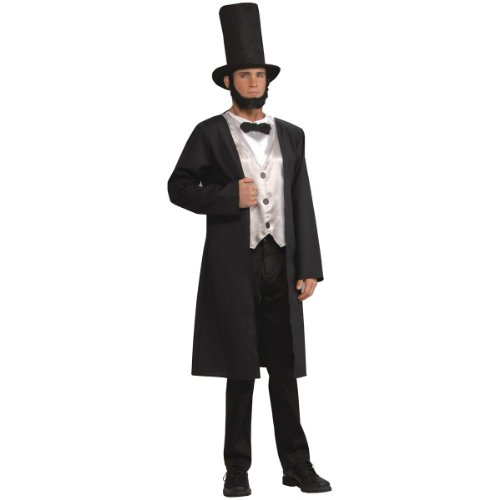 Abe Lincoln Costume - Adult (Adult Abe Lincoln Costumes)
