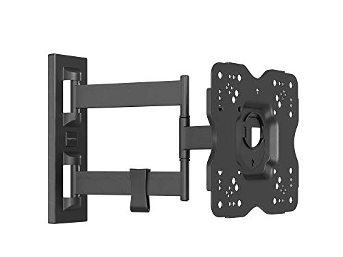 AmazonBasics Heavy-Duty, Full Motion Articulating TV Wall Mount for 22-inch to 55-inch LED, LCD, Flat Screen TVs (Wall Bracket For Samsung 32 Inch Tv)