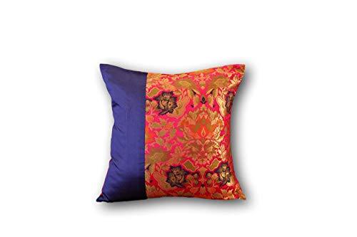 Brocade pillow cover ()