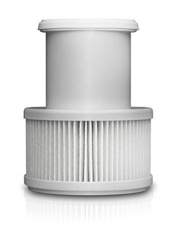 Medisana 60390-Filtro de particulas antibacterias, para purificador de Aire Air, Blanco