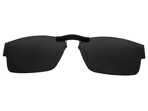 Custom Fit Polarized CLIP-ON Sunglasses For Ray-Ban RB5228 55X17 - Clip Rb5228 On