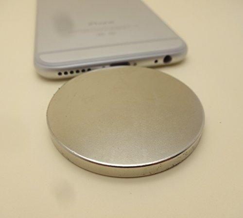"Strong Neodymium Disc Magnet 2"" x 1/4"" Inch Neodymium Iron Boron (NDFeB) Rare Earth Magnets N52"