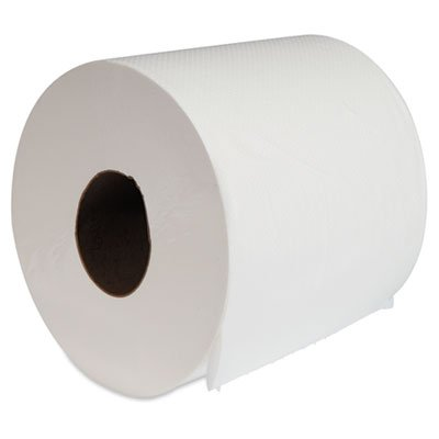 Boardwalk BWK6415 Center-Pull Hand Towels 8'' x 10'' White 660/Roll 6/Carton, White