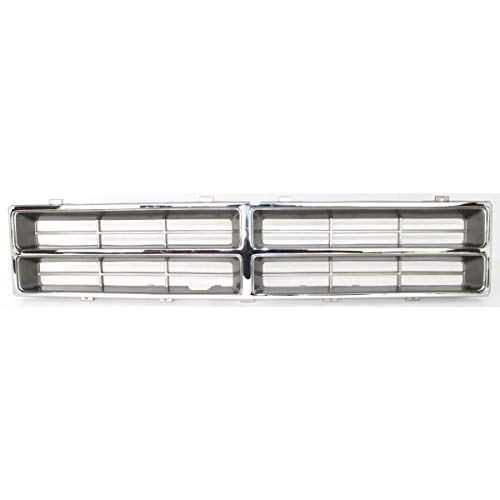 - New Front Grille For 1986-1990 Dodge Full Size P/U Chrome, Special Order Item Only CH1200103
