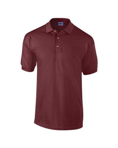 Gildan Ultra Cotton TM gekämmte ringgesponnene Piqué-Polo Erwachsenen L,Maroon