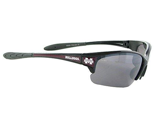 Bulldogs Black Sunglasses Sport - Sports Accessory Store Mississippi State Bulldogs MSU Black Maroon Elite Sunglasses S7JT