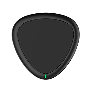 Wireless Charger,Yootech Qi Certified Wireless Charging Pad for iPhone X, iPhone 8/ 8 Plus, Samsung Galaxy S9 S9 Plus Note 8 S8 S8 Plus S7 S7 Edge Note 5 [No AC Adapter]