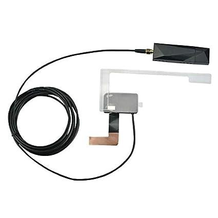 ACAMPTAR Receptor GPS para Coche Dab + Antena con Adaptador USB ...