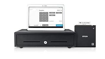 Loca Fox POS caja registradora Sistema – Tablet de caja registradora Incluye Tablet, recibos,
