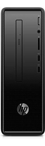 HP Slim Tower 290 p0011il  Pentium Gold G4560/4 GB/1TB HDD/Free Dos 2.0/Intel HD 610 Graphics , Black