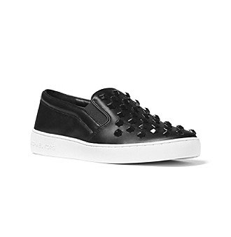 Michael Michael Kors Keaton Slip On Sneakers Tennis Shoes Black 8 M - Tennis Kors Michael
