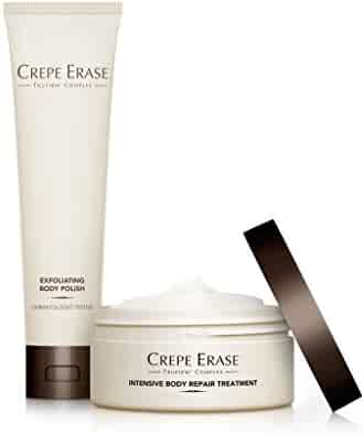 Crepe Erase – Trial Size Body Duo – Nourishing and Hydrating System with TruFirm Complex – Intensive Body Repair Treatment and Exfoliating Body Polish – CS.2004 (Packaging May Vary)