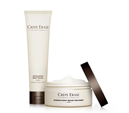 Body Hydrating Treatment (Crepe Erase – Trial Size Body Duo – Nourishing and Hydrating System with TruFirm Complex – Intensive Body Repair Treatment and Exfoliating Body Polish – CS.2004)