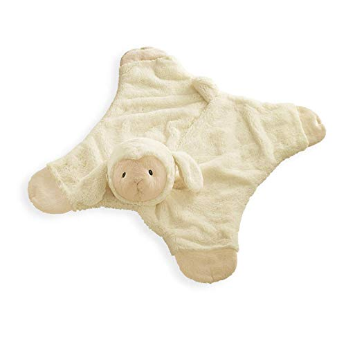 "Baby GUND Lamb Comfy Cozy Stuffed Animal Plush Blanket, Cream, 24"" from GUND"